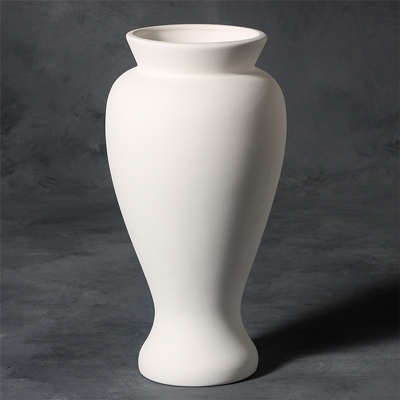 12 Vase Stoneware Bisque